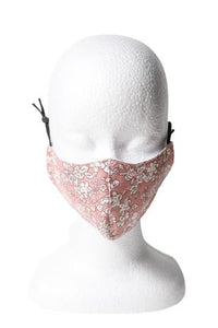 Floral Reusable Face Mask - Pink