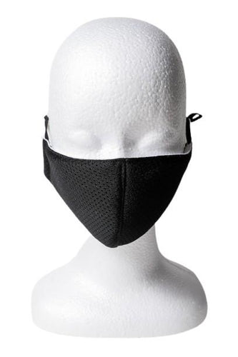 Mesh Reusable Face Mask - Black