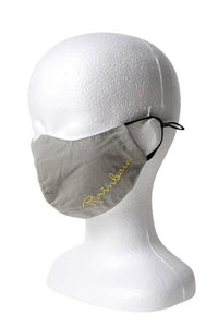 Rainbow Reusable Face Mask - Light Gray