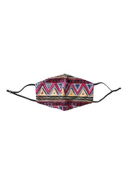 Tribal Embroidery Face Mask