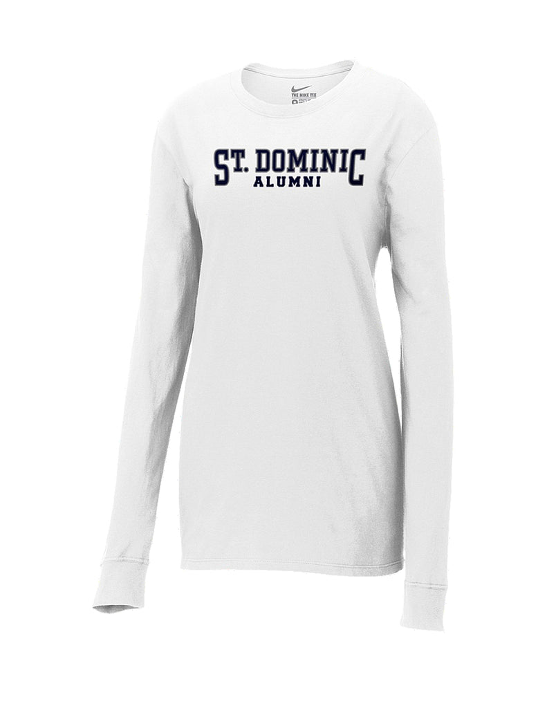 Long Sleeve Nike Shirt -Alumni
