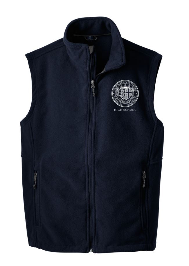 High School Fleece Vest