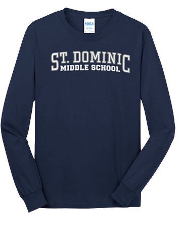 Middle School Long Sleeve Shirt