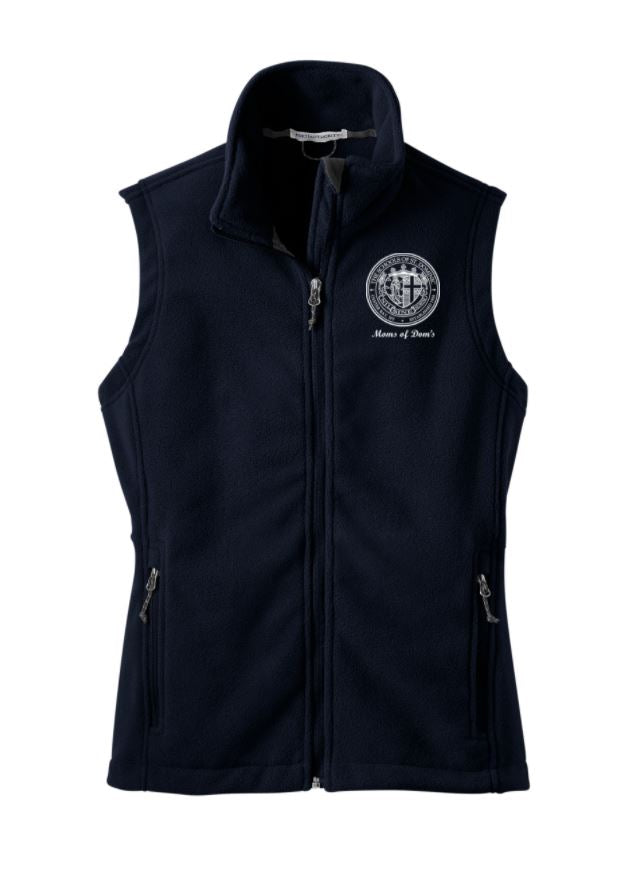Moms Of Dom's Fleece Vest