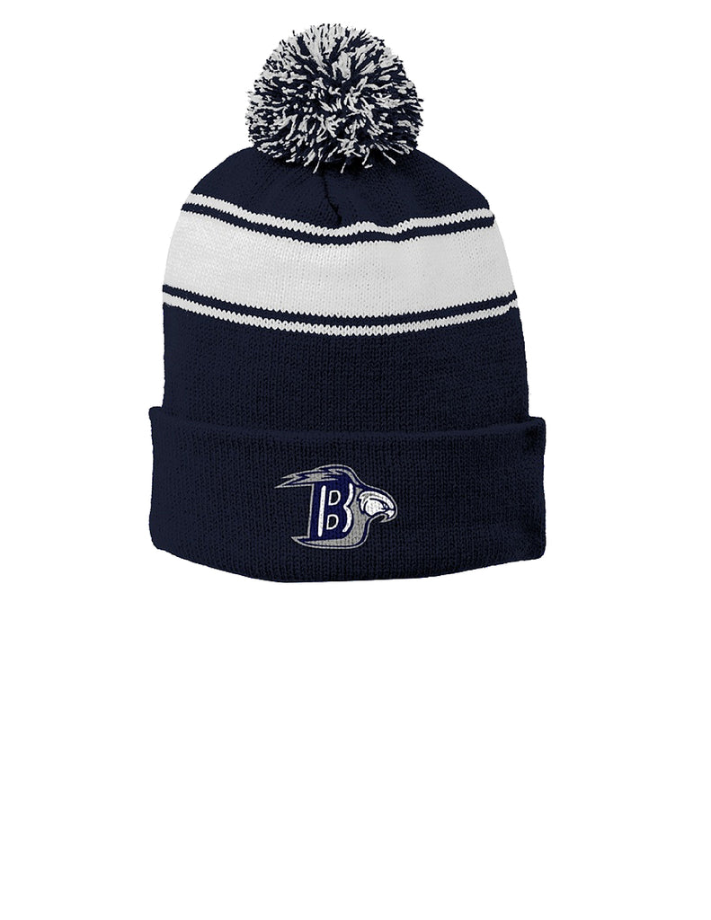 St Dom Winter Hat with Logo