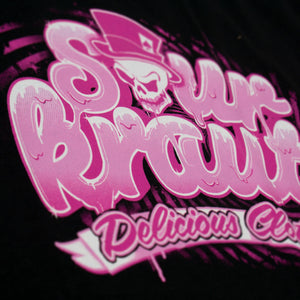*Limited Edition* Girlyshirt Delicious Schwarz