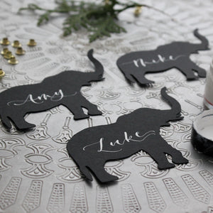 Elephant Place Cards
