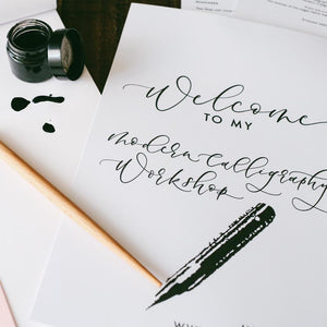 modern calligraphy pack
