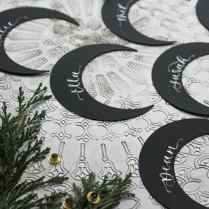 Celestial Moon Place Cards