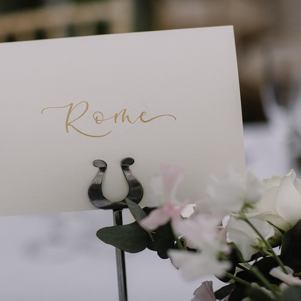 Ivory Table Numbers