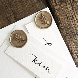 wedding wax seals