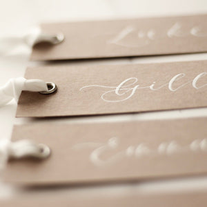 Luxury Rustic Place Cards