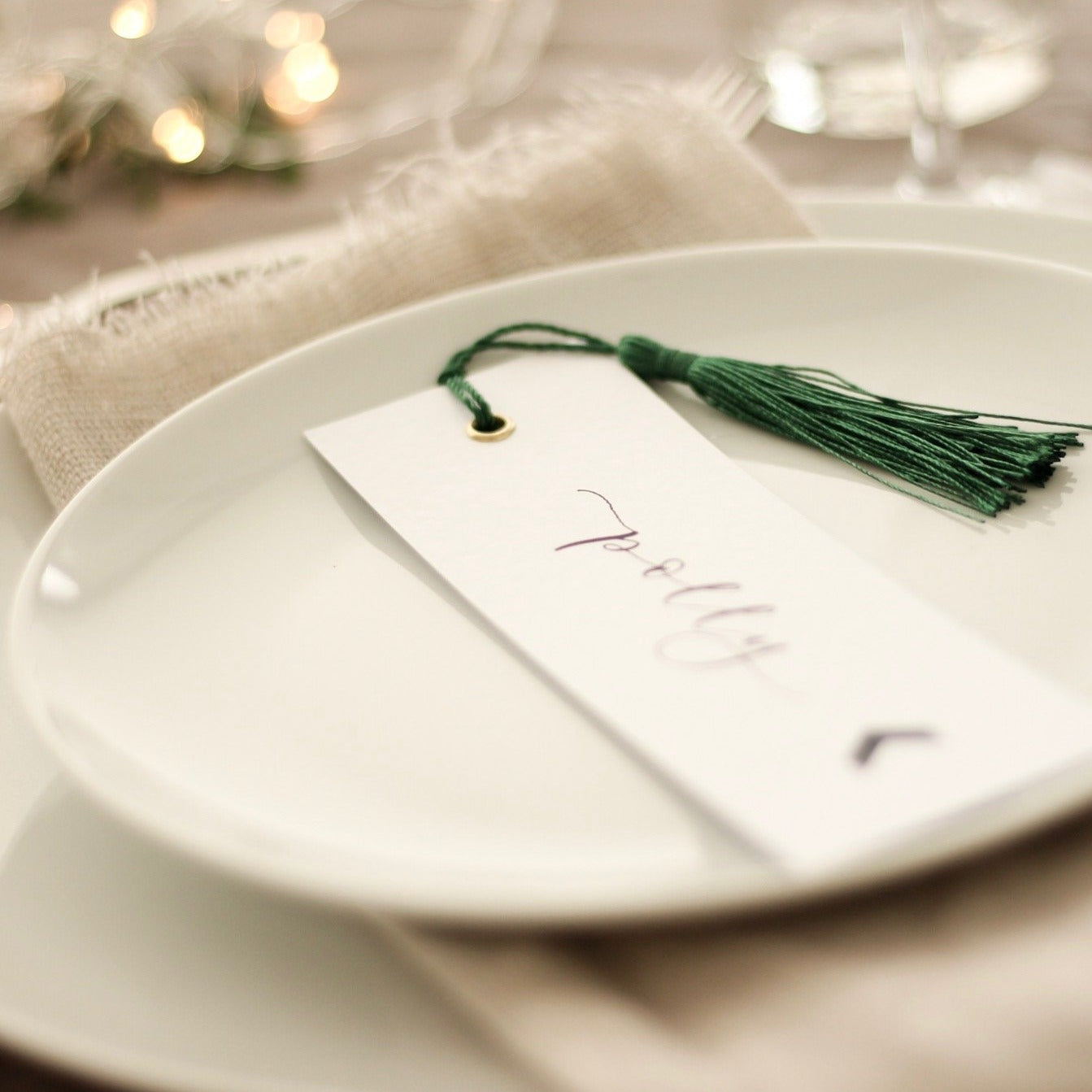 Bookmark Wedding Place Cards