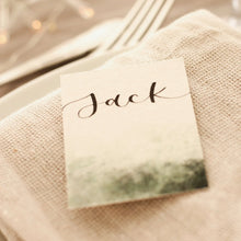 Load image into Gallery viewer, Green Smoke Place Cards