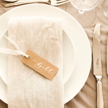 Load image into Gallery viewer, Luxury Rustic Place Cards
