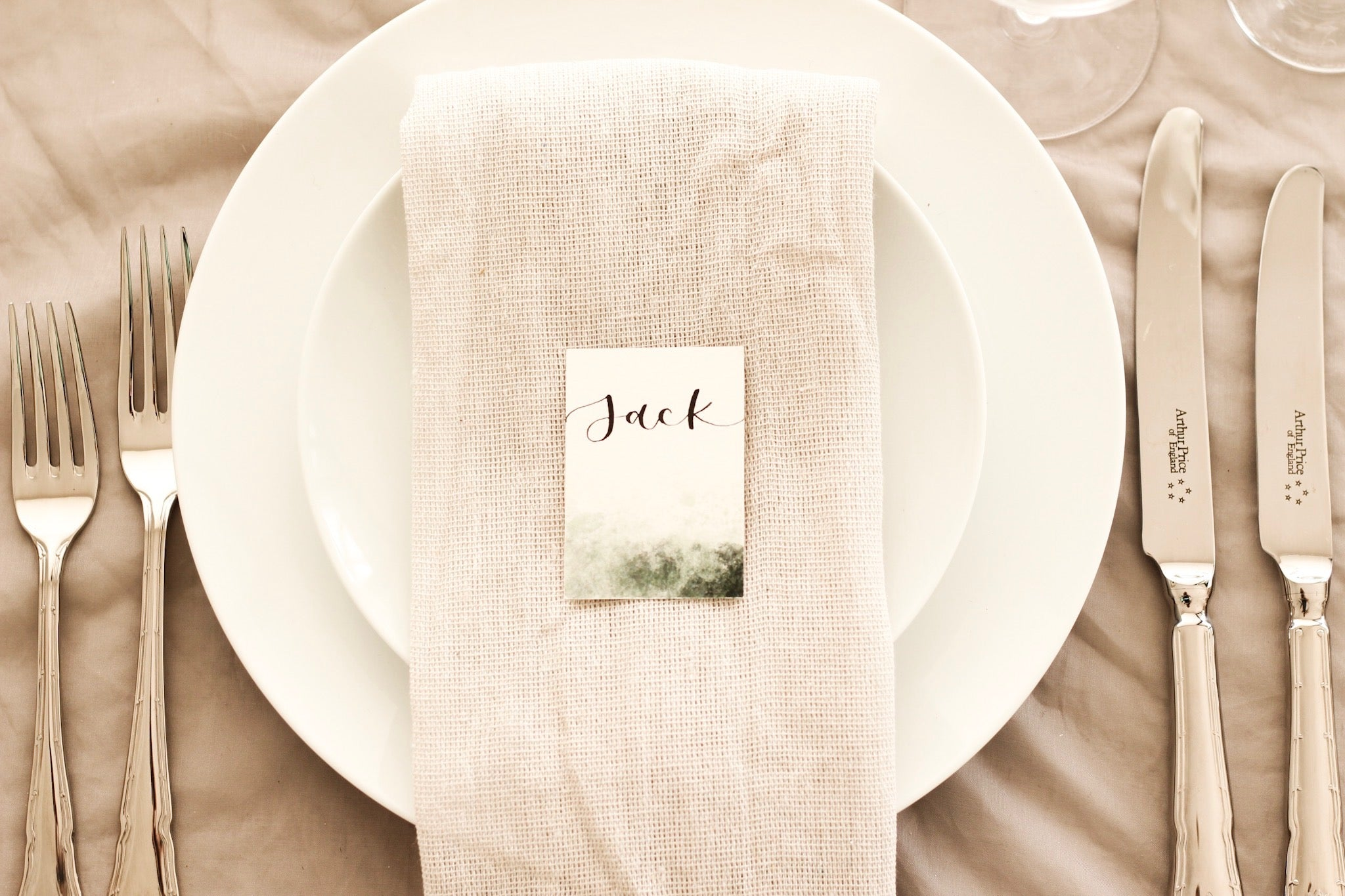 Green Smoke Place Cards