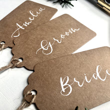 Load image into Gallery viewer, Luggage Tag Place Cards