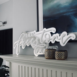 Perspex Family Wall Art
