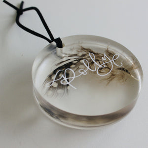Personalised Baubles - Pheasant Feather
