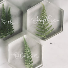 Load image into Gallery viewer, Fern wedding place cards