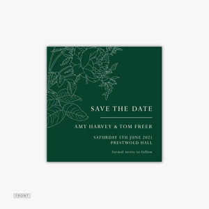 Rose Save the Date