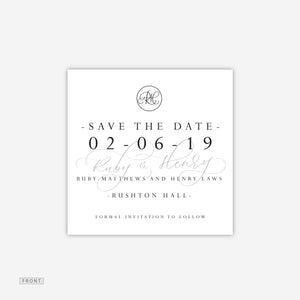Rushton Save the Date