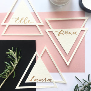triangle wedding names