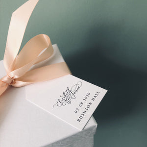 Luxury Wedding Favour Tags