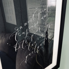 Load image into Gallery viewer, Modern calligraphy art