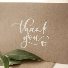 Load image into Gallery viewer, Rustic Thank You Card Pack