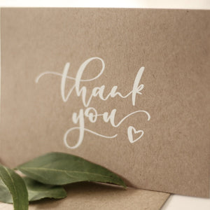 Rustic Thank You Card Pack