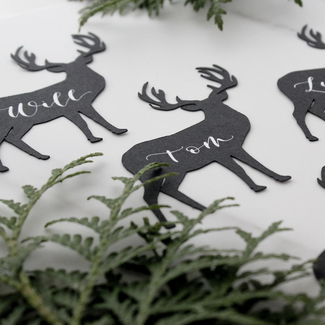 Reindeer Place Cards