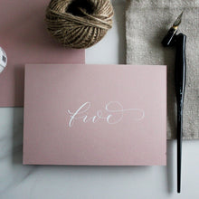 Load image into Gallery viewer, Blush Pink Table Numbers