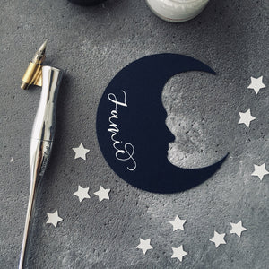Man in the Moon Place Cards