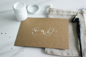 Kraft Table Numbers