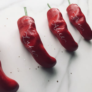 Chilli Party Favours - Personalised