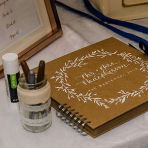 Kraft Wedding Scrapbook