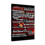 Blood In Blood Out Canvas Art Canvas TVShowGifts 18″ × 24″ Premium Gallery Wraps (1.25″)