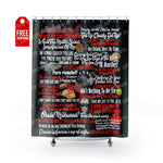 "Blood In Blood Out Shower Curtain Home Decor TVShowGifts 71"" x 74"""