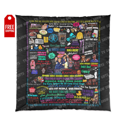 Everybody Loves Raymond Comforter Home Decor TVShowGifts 88x88