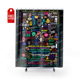 "Everybody Loves Raymond Shower Curtain Home Decor TVShowGifts 71"" x 74"""