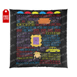 Friends Comforter - Quotes Home Decor TVShowGifts 88x88