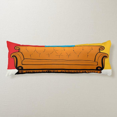 Friends Couch Body Pillow TVShowGifts