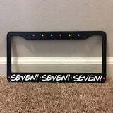 Friends License Plate Frame - Seven TVShowGifts