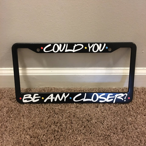 Friends License Plate Frame TVShowGifts
