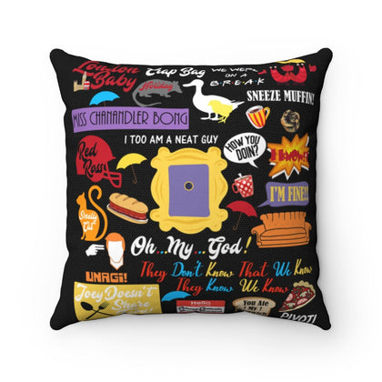 Friends Pillow Home Decor TVShowGifts 20x20