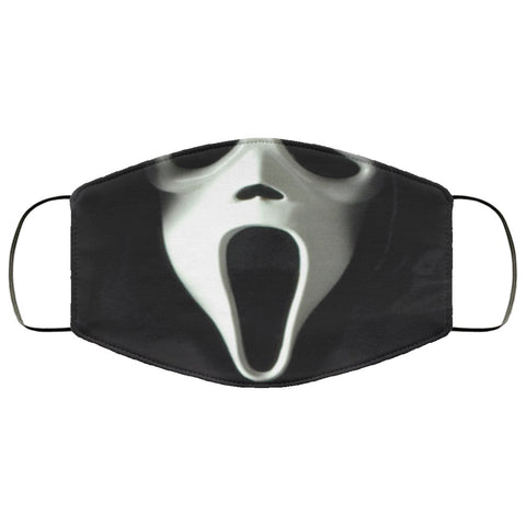 Ghostface Face Mask Accessories TVShowGifts White One Size
