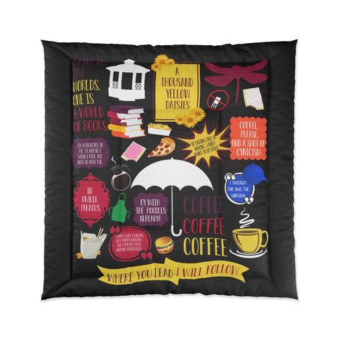 Gilmore Girls Comforter Home Decor TVShowGifts 88x88