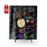 "Hocus Pocus Shower Curtain Home Decor TVShowGifts 71"" x 74"""