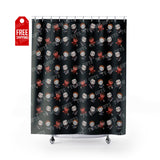 "Horror Movie Shower Curtain Home Decor TVShowGifts 71"" x 74"""